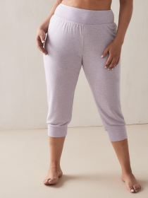 French Terry PJ Capri Pants - Addition Elle