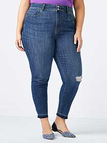 d/c JEANS - Slightly Curvy Fit High Rise Skinny Jean