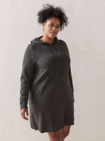 French Terry Hooded Dress - ActiveZone