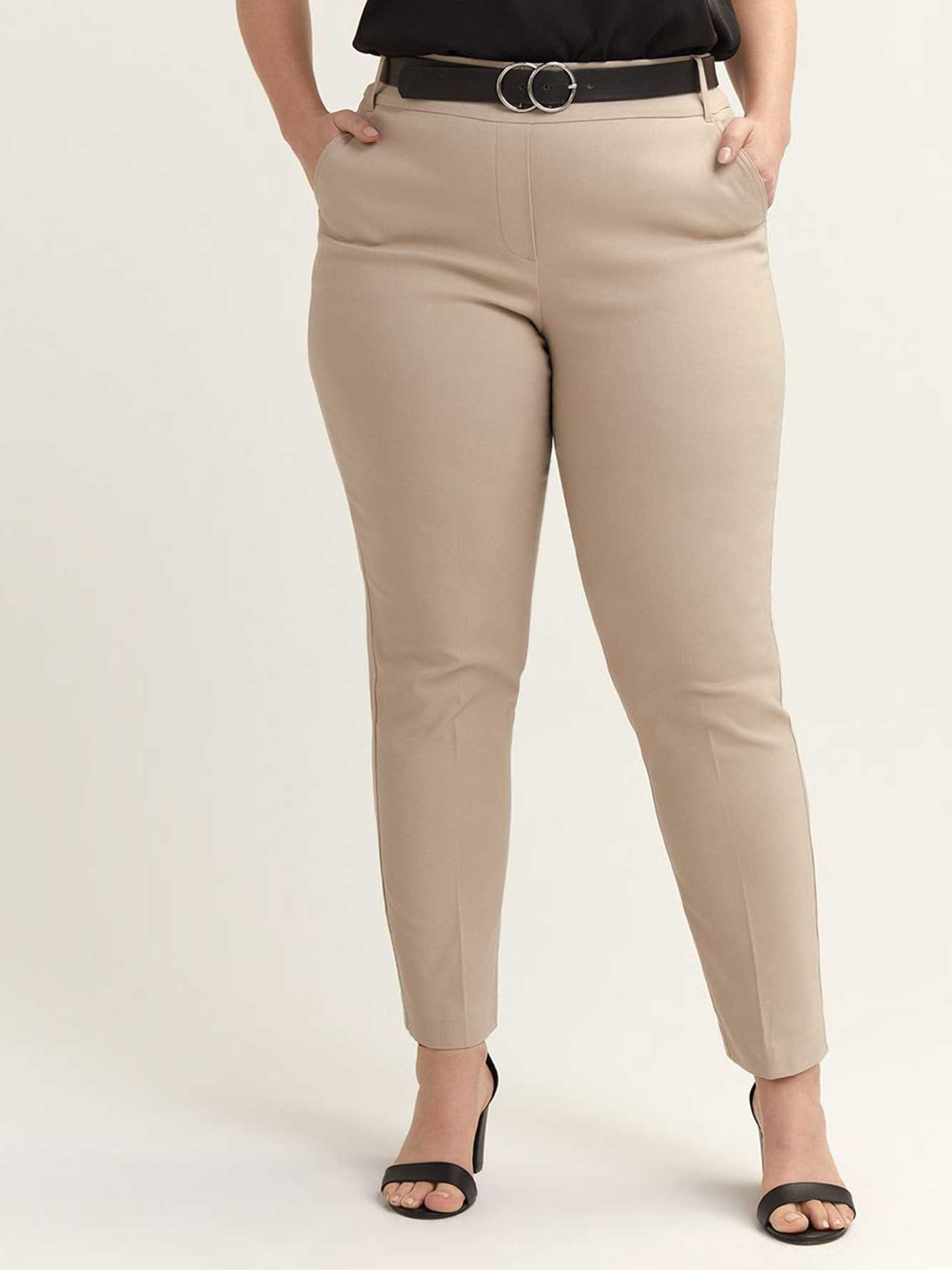 Petite - Savvy Soft Touch Straight Leg Pant - In Every Story