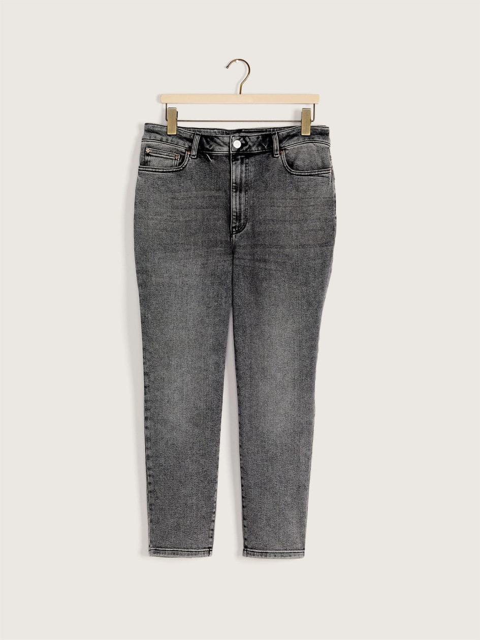High-Rise Slim Cropped Jean - Addition Elle