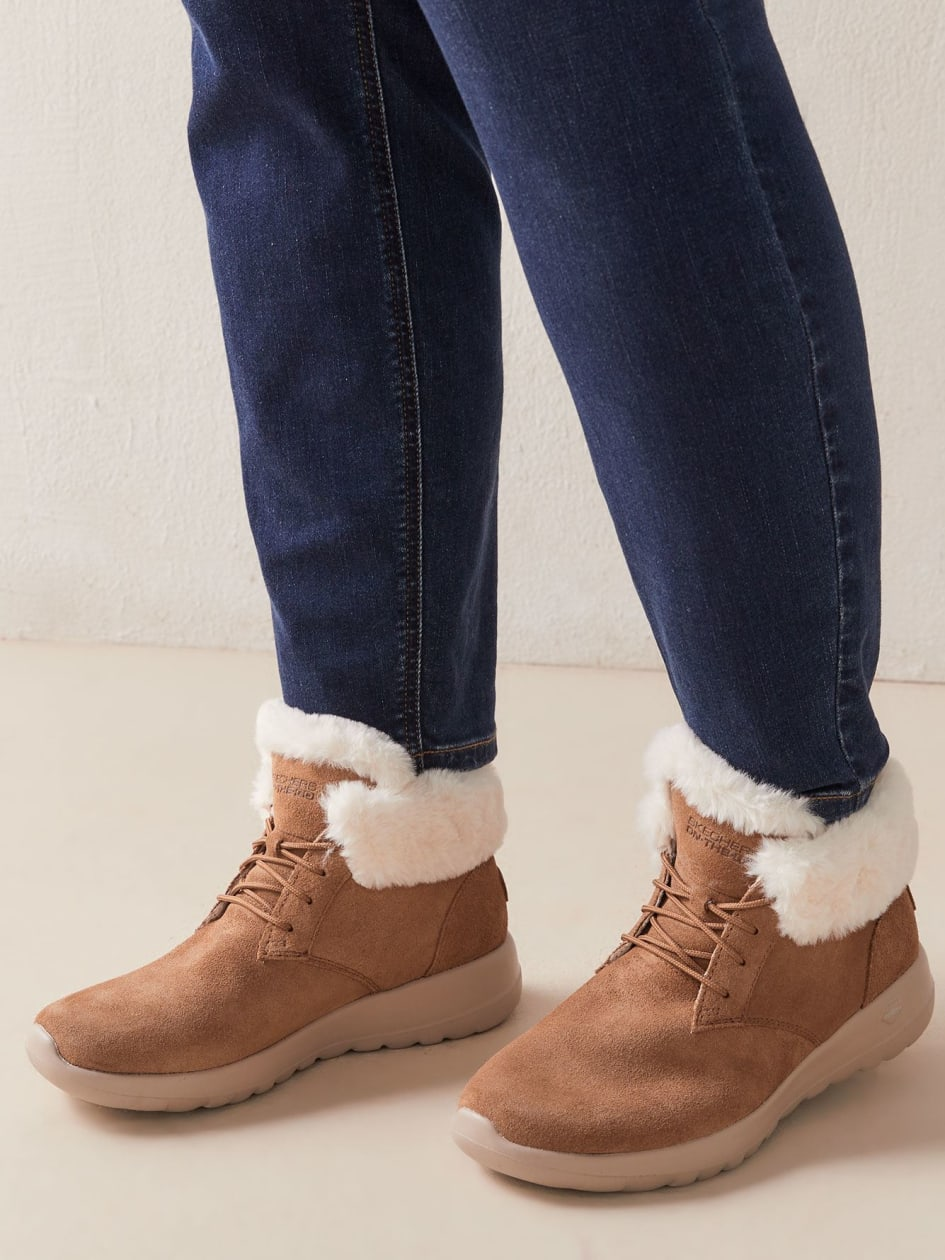 On-The-Go Joy Lush Wide-Width Booties - Skechers