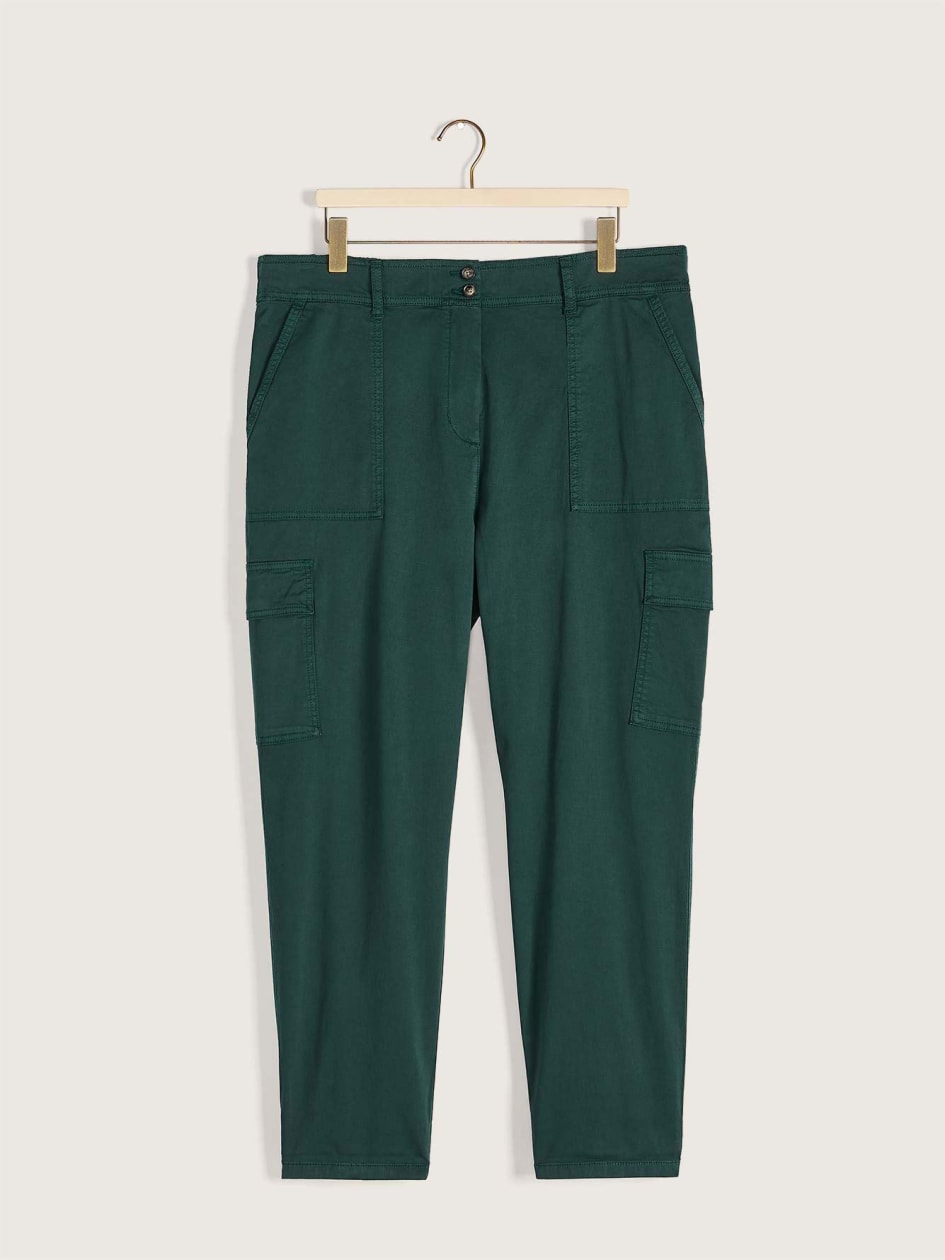 Woven Cargo Pants - Addition Elle