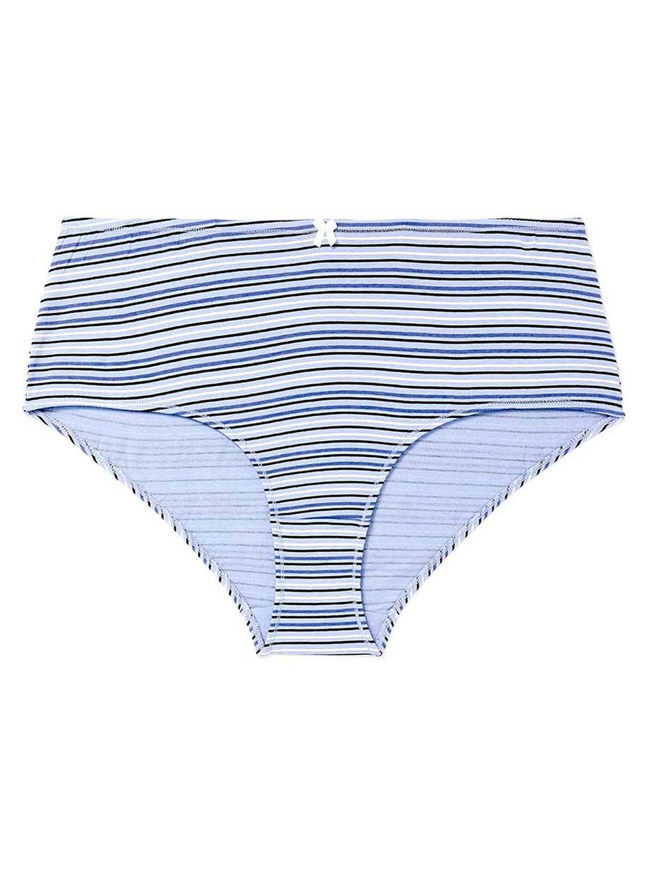 Printed Cotton Boyshort Panty - ti Voglio