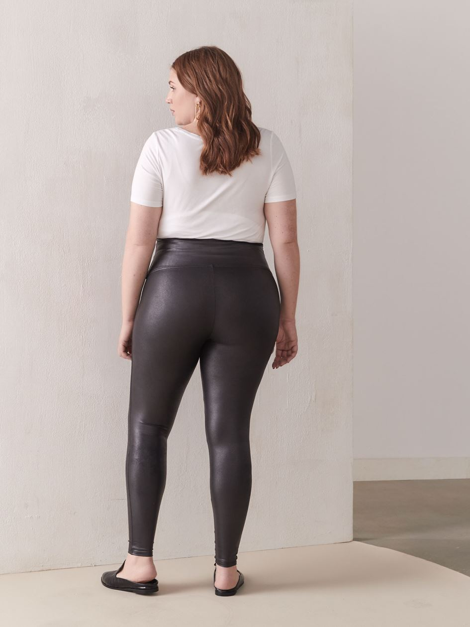 Faux-Leather Leggings - Spanx