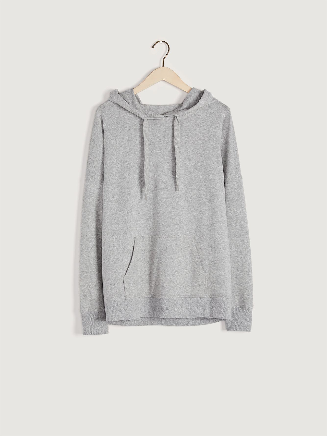French Terry Kangaroo Hoodie - Addition Elle
