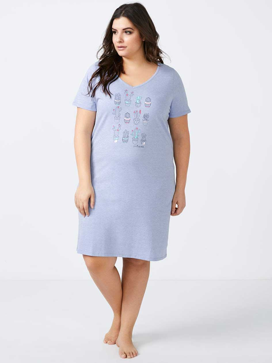 Printed Sleepshirt - ti Voglio