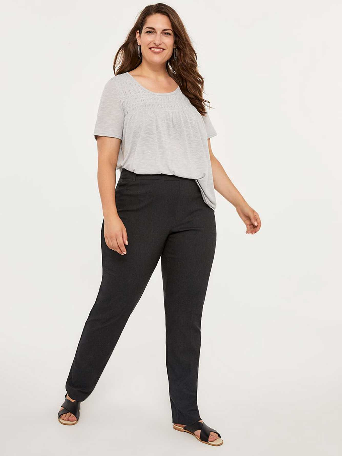 17582cfbc36 Petite Savvy Soft Touch Straight Leg Pant - In Every Story