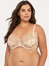 Printed Full Underwire Support Bra - Wonderbra