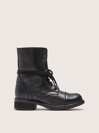 Military Booties - Steve Madden