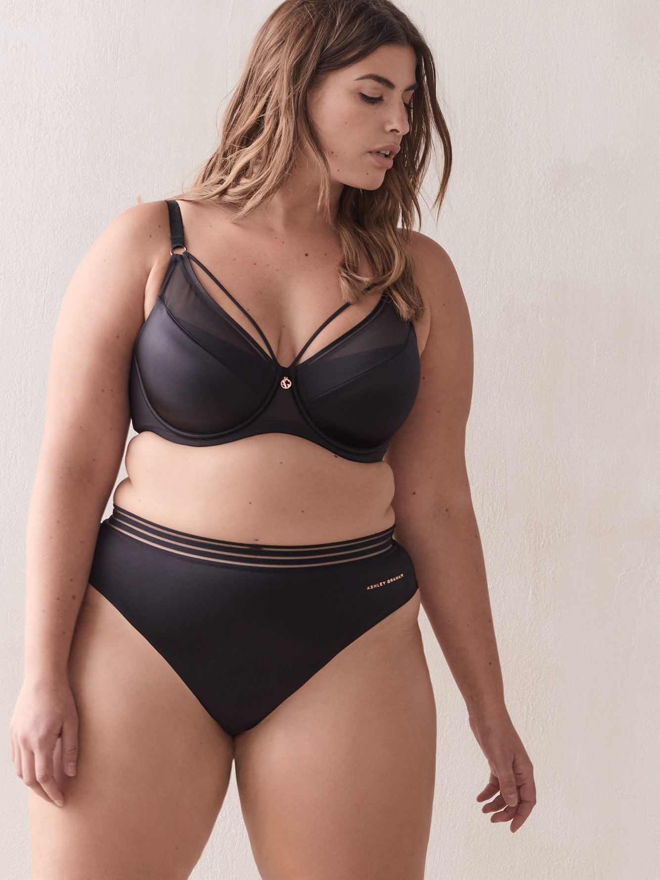 Diva Demi Cup Bra, G & H Cups - Ashley Graham