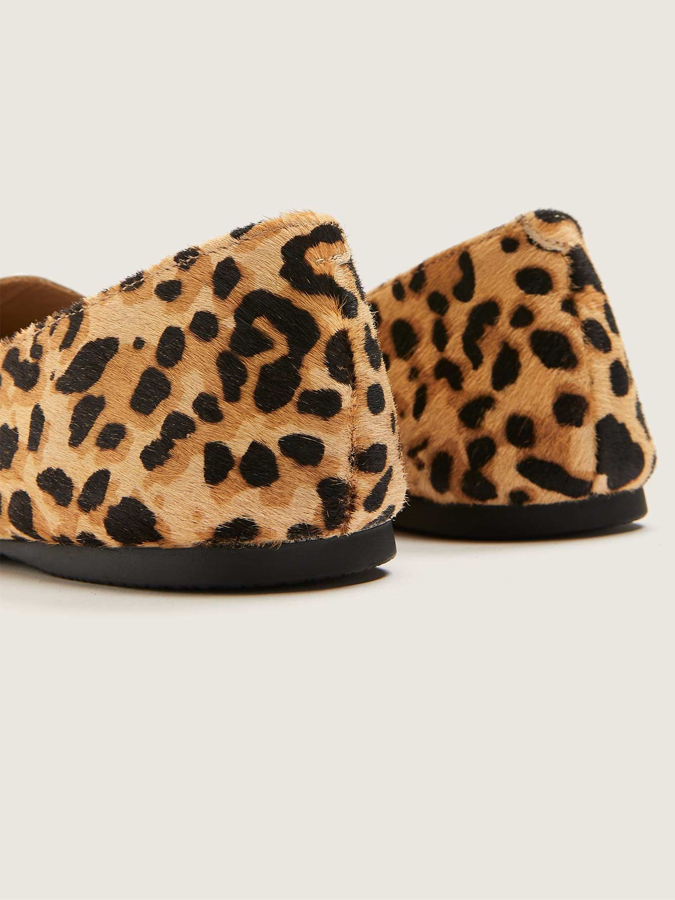 Leopard Feather Loafer - Steve Madden