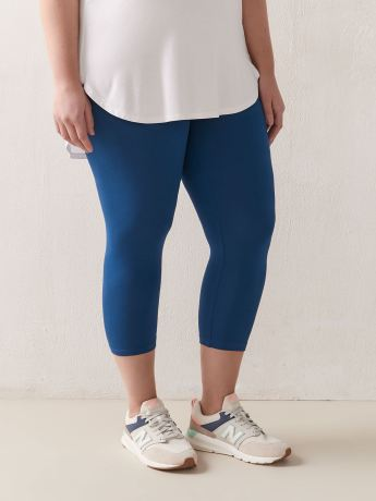 Solid Capri Legging - Addition Elle