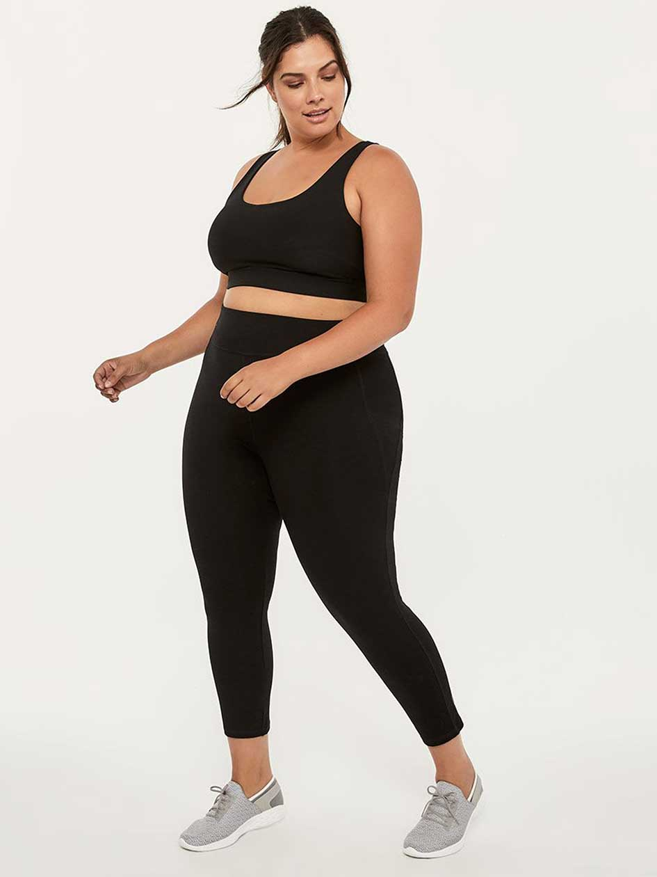 Plus-Size Basic 7/8 Legging - ActiveZone