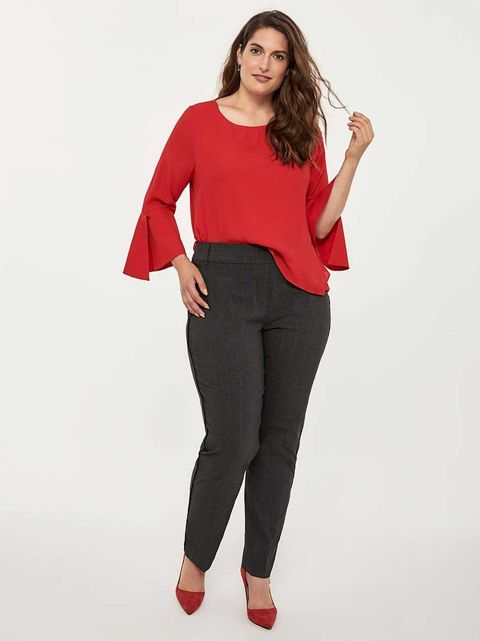 b782cbfe69dbc Petite Savvy Soft Touch Straight Leg Pant - In Every Story