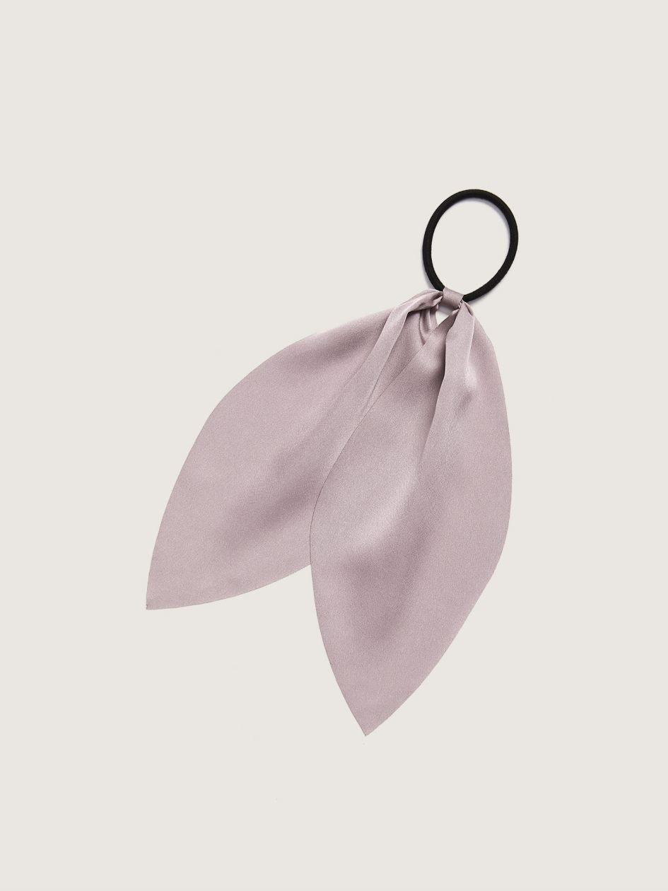 Satin Ribbon Hair Tie - Addition Elle