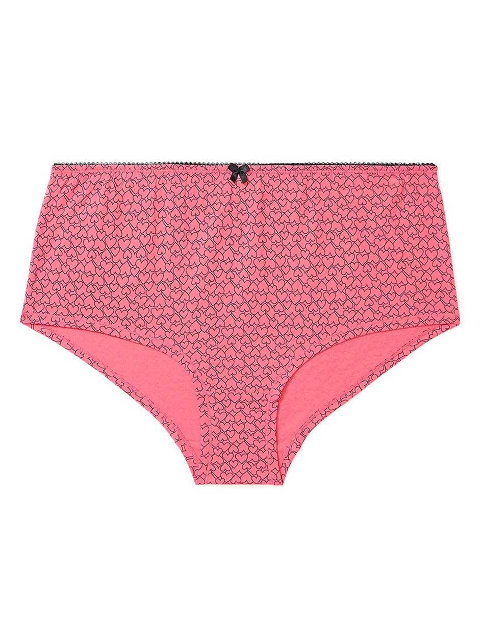 Ti Voglio - Printed Cotton Boyshort Panty