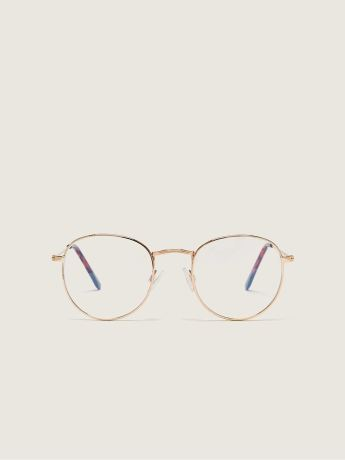 Aviator Blue Lense Glasses - In Every Story