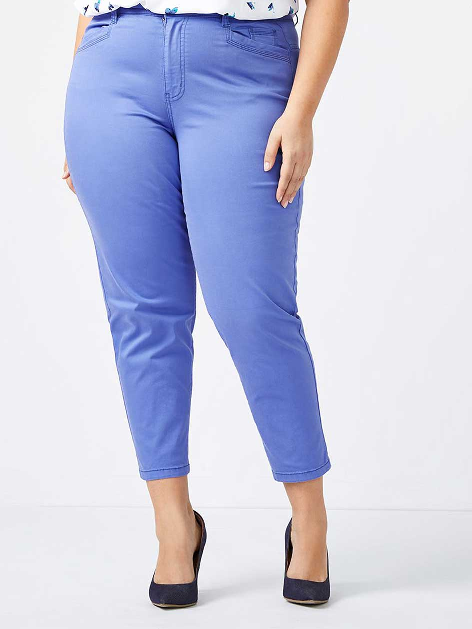 Slightly Curvy Fit Slim Ankle Chino Pant