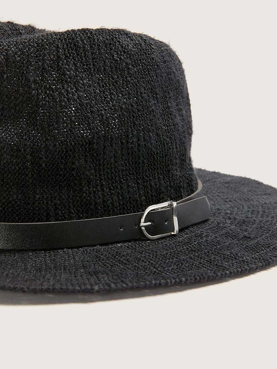 Black Panama Hat