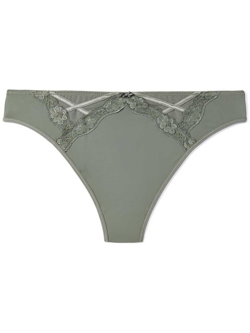 Ti Voglio Thong Panty with Lace