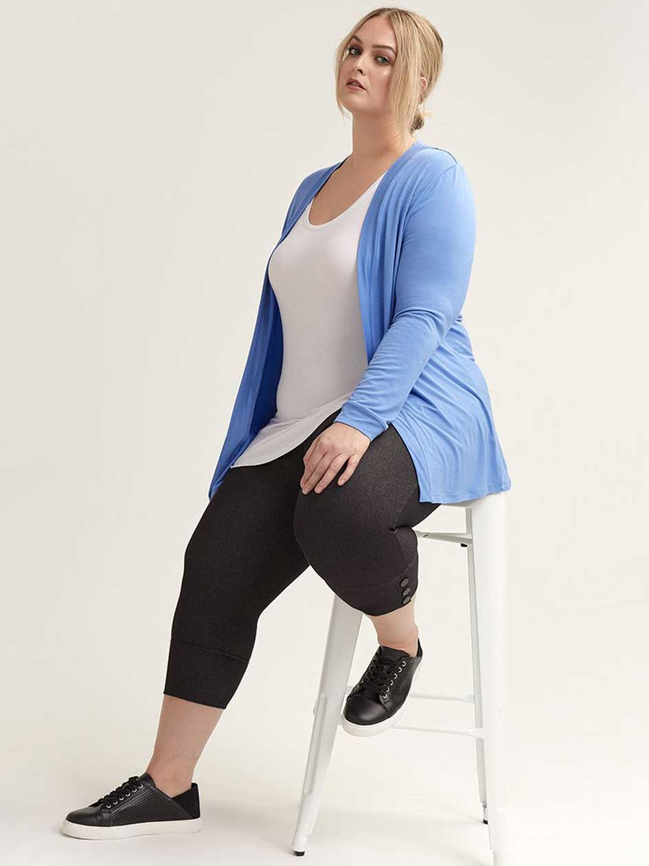 Long Sleeve Edge to Edge Cardigan - In Every Story