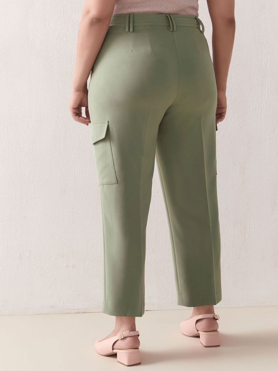 Straight Leg Cargo Pant - Addition Elle