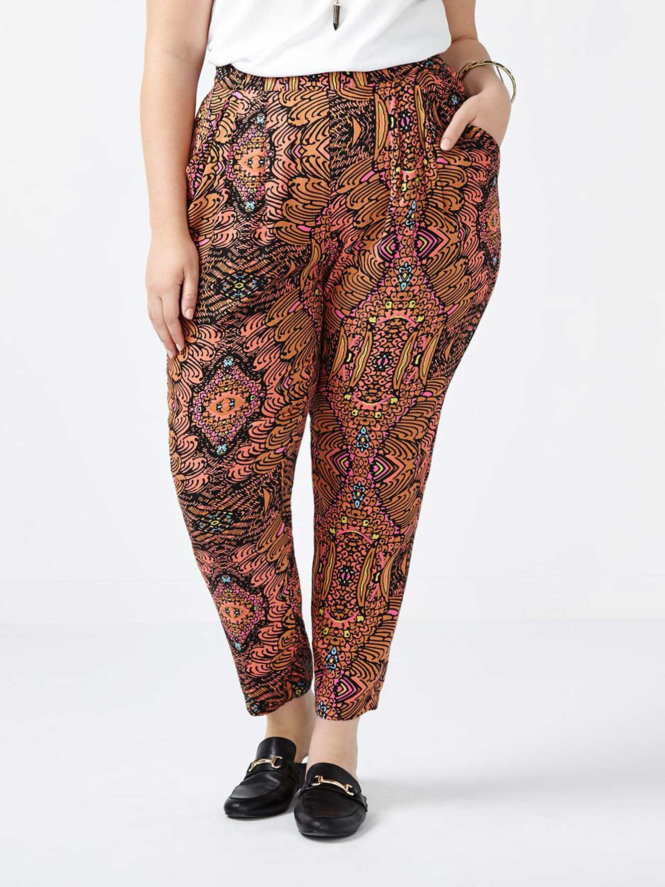 d246090c0d6ce MELISSA McCARTHY Printed Pull On Pant