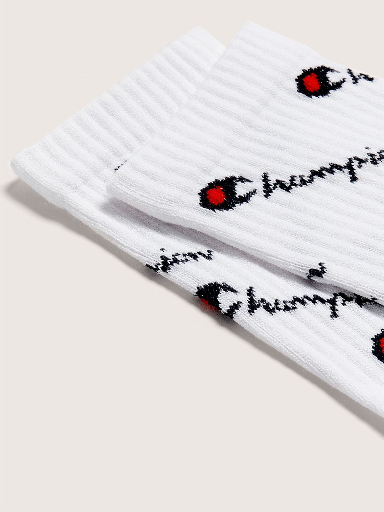 All-Over Printed Crew Socks - Champion