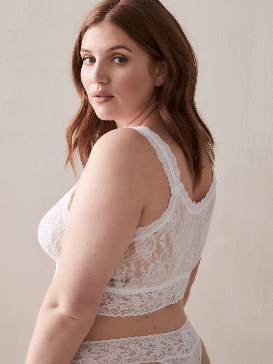 Wirefree Lace Cropped Top - Hanky Panky