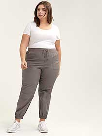 Cargo Pants with Front Pockets - d/C JEANS