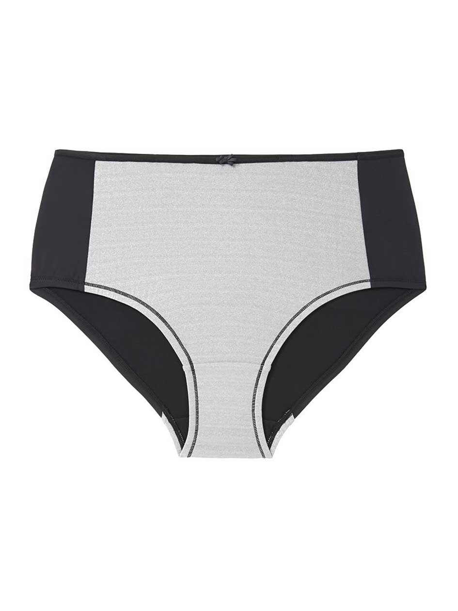 Ti Voglio Brief Panty with Lurex Mesh