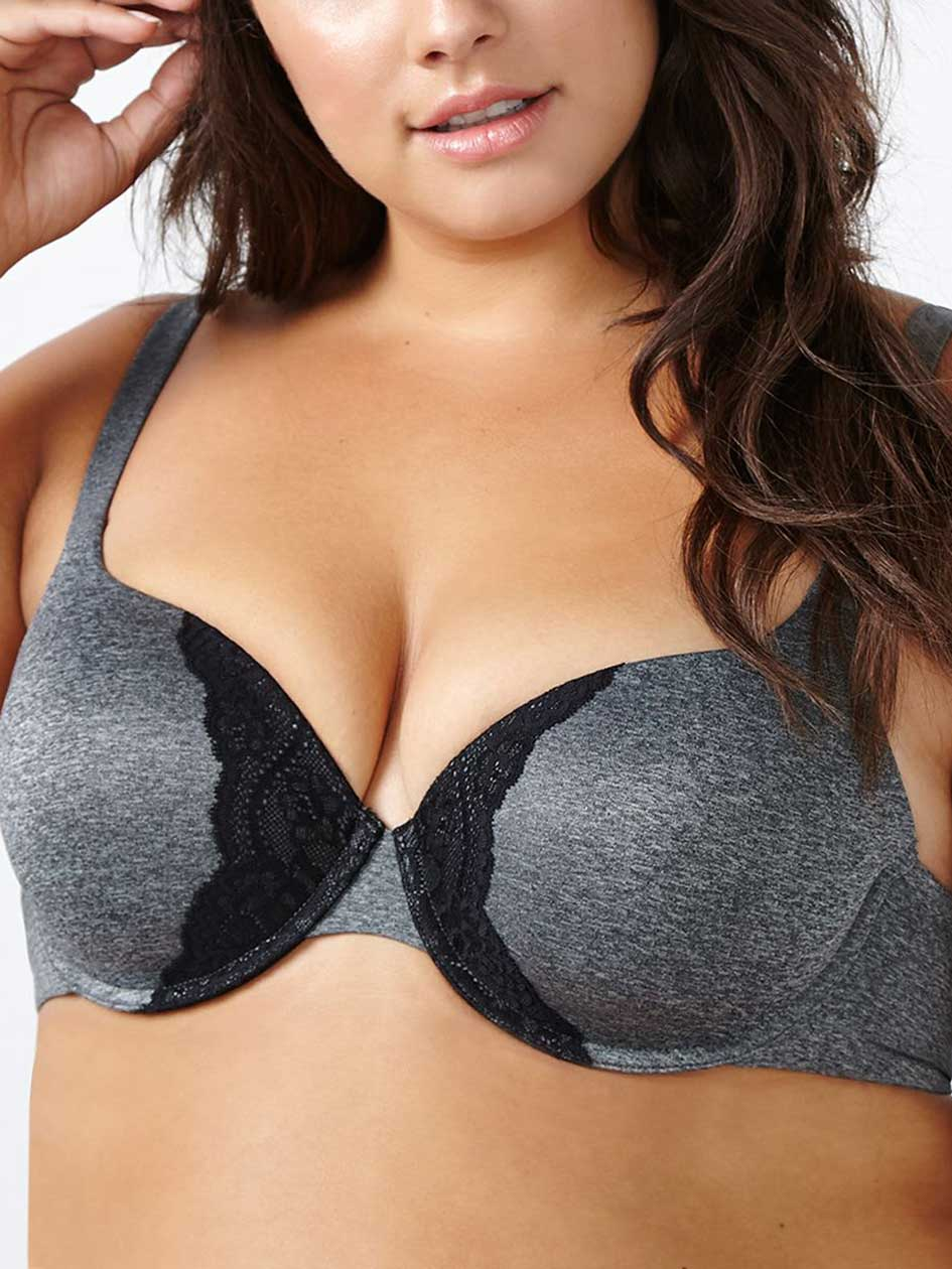Ti Voglio Padded Demi T-Shirt Bra with Lace