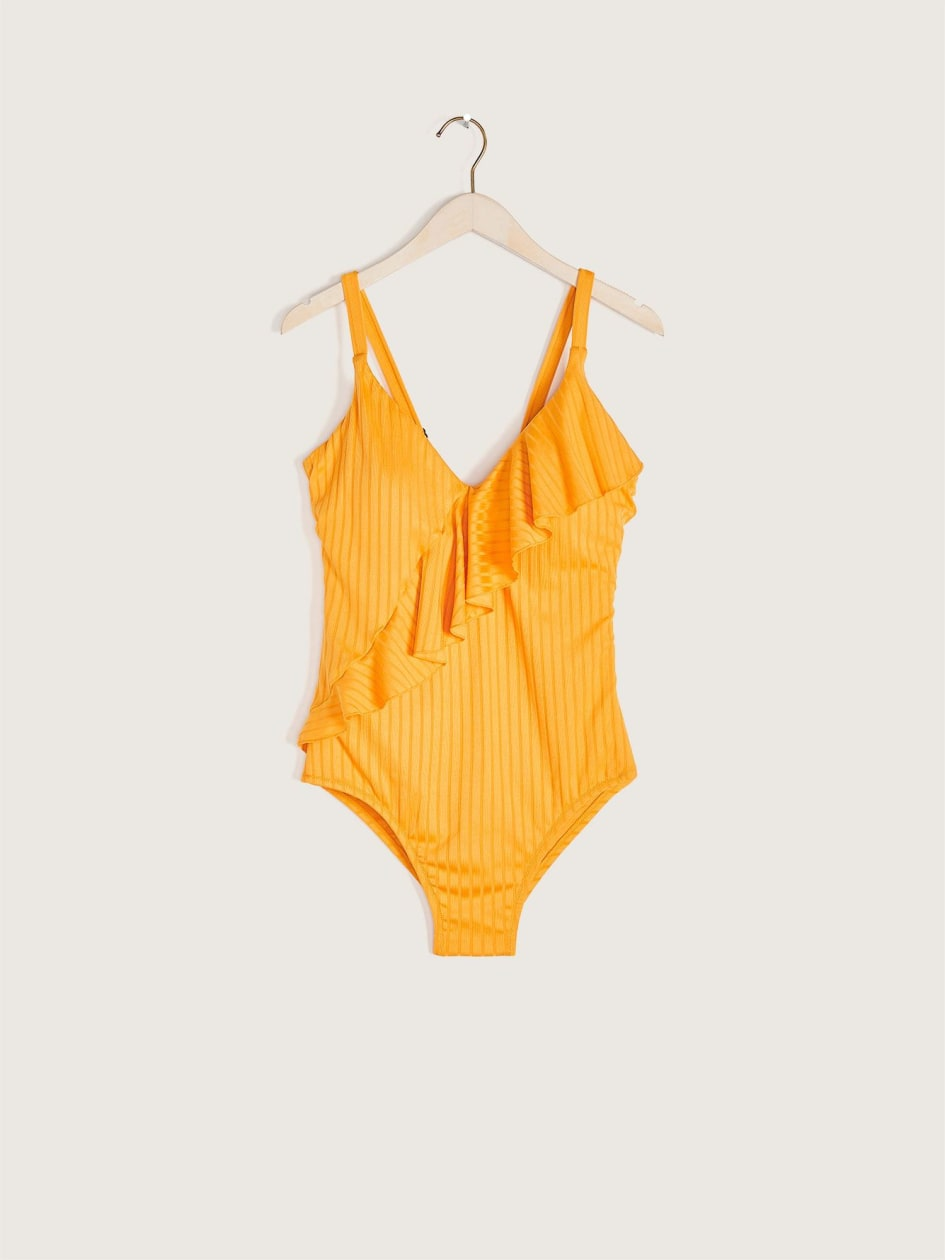 One-Piece Ruffle Swimsuit - Everyday Sunday