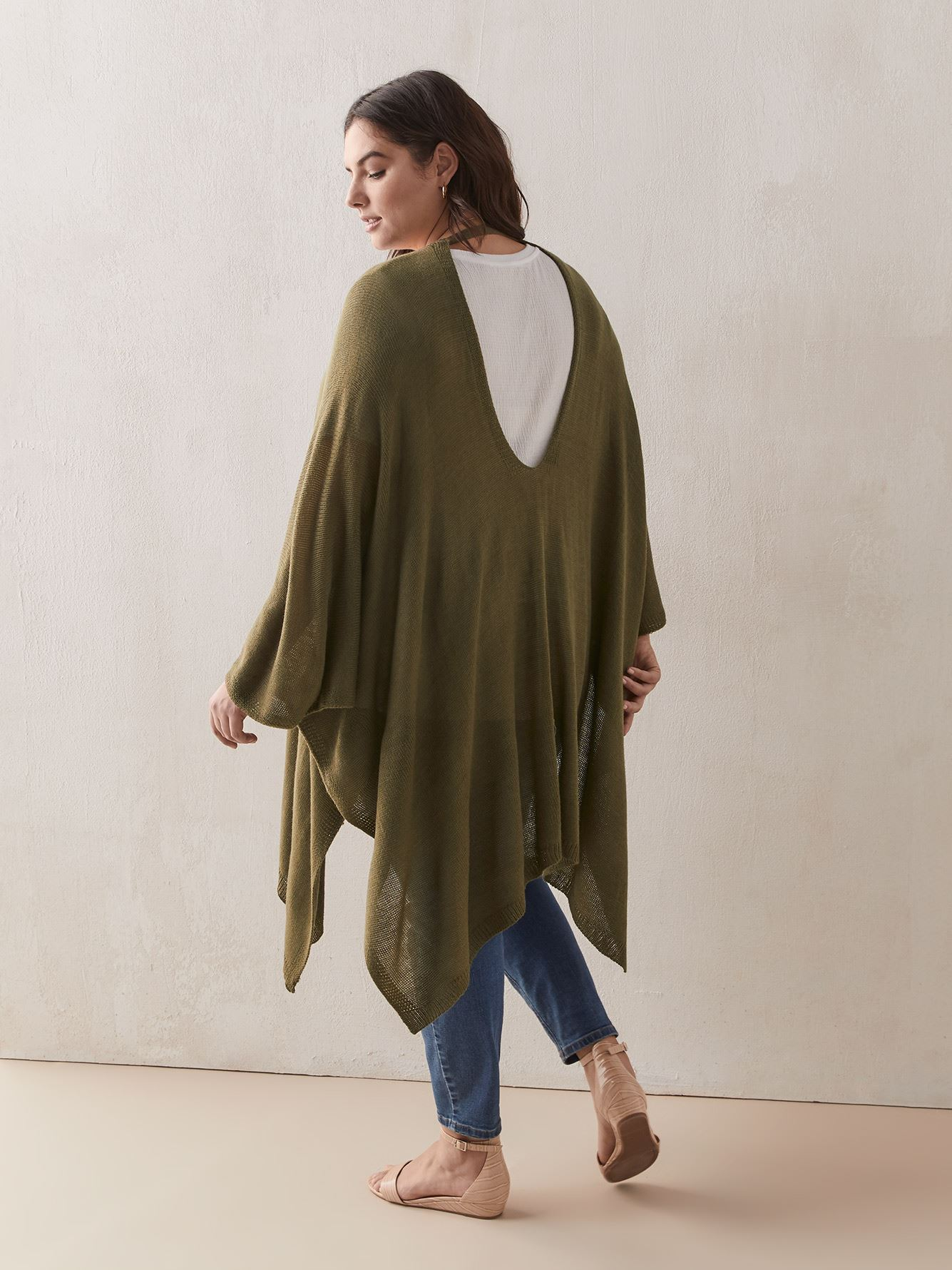 Poncho multiples façons en jersey - In Every Story