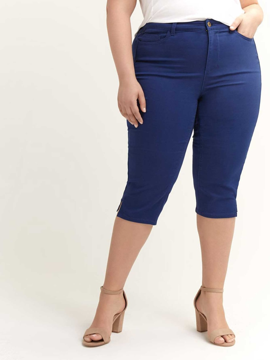 bbb62e1ce5d Stylish Plus Size Capris