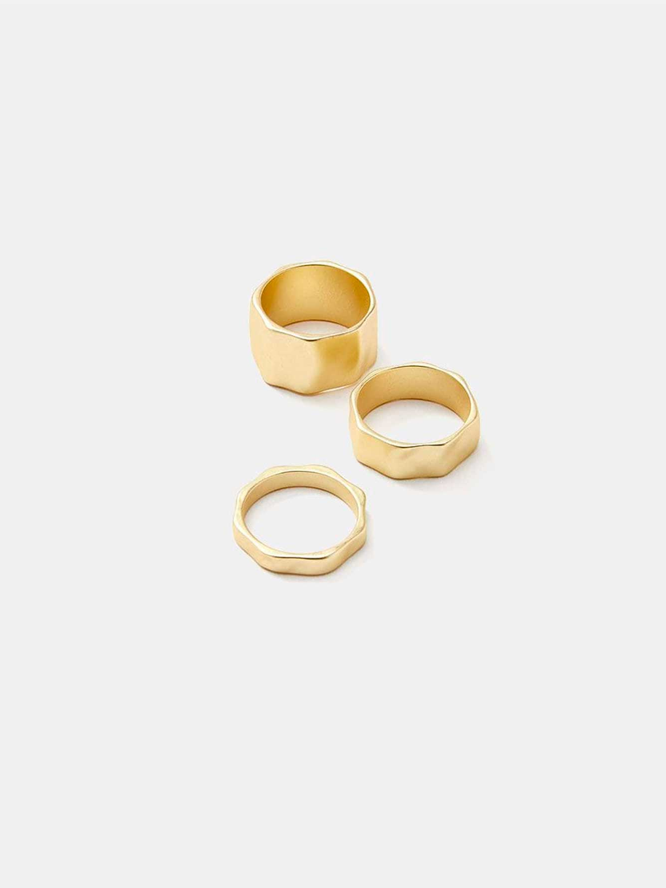 Pack of 3 rings
