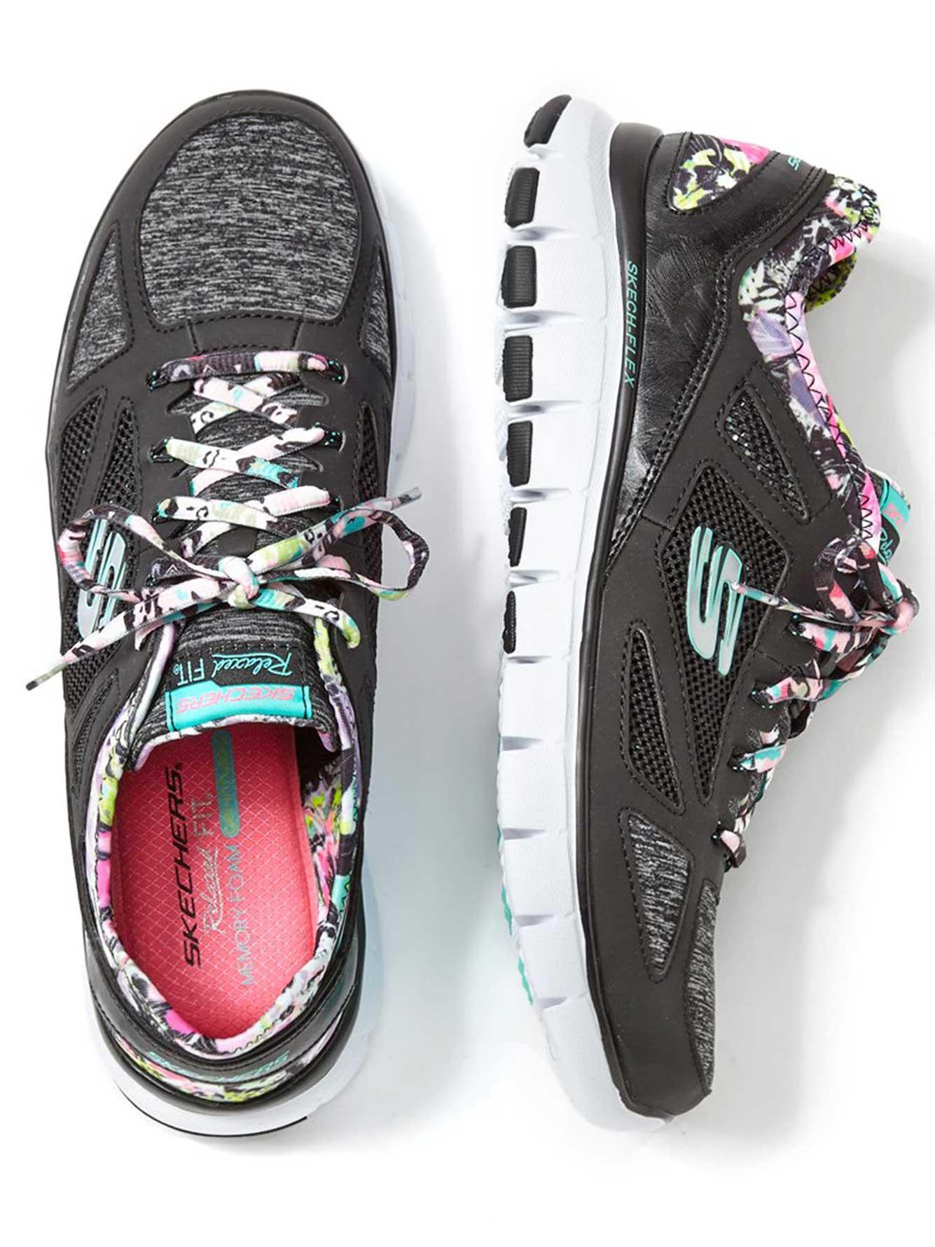 5858a4888431 Skechers Wide-Width Lace Up Sneakers