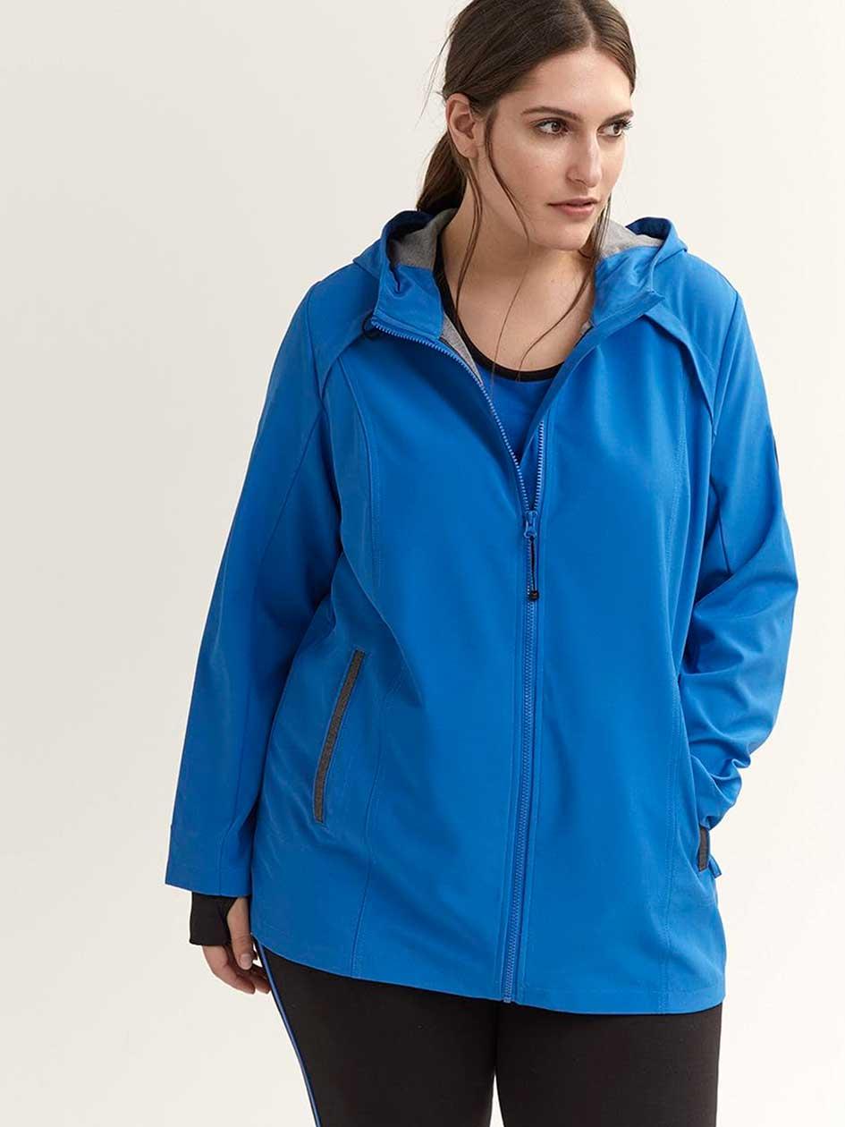 1ad187a6dac Plus Size Softshell Jacket - ActiveZone