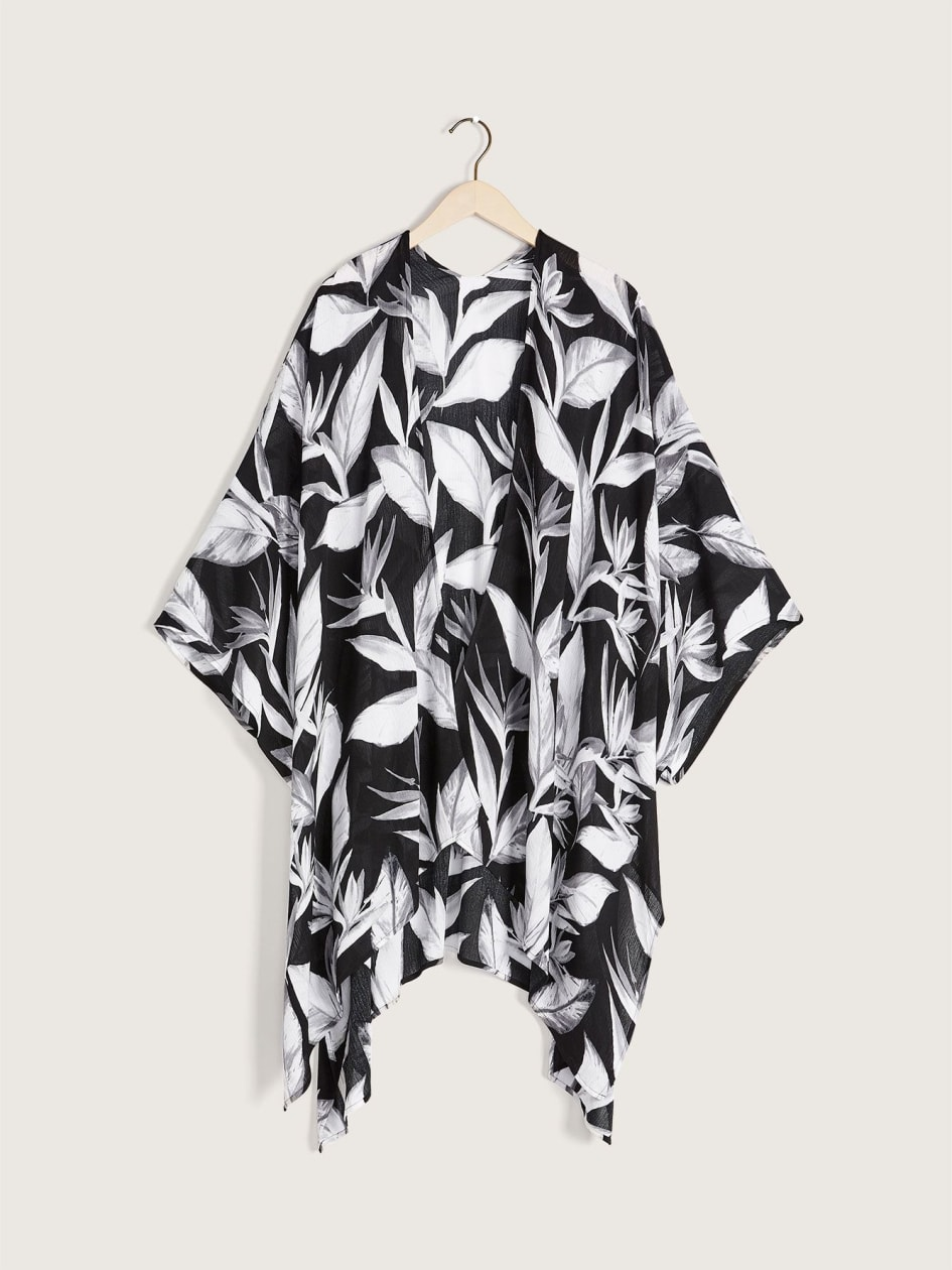 Black & White Swim Cover-Up - Body Glove