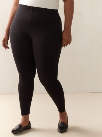PDR Legging with Elastic Waistband - Addition Elle
