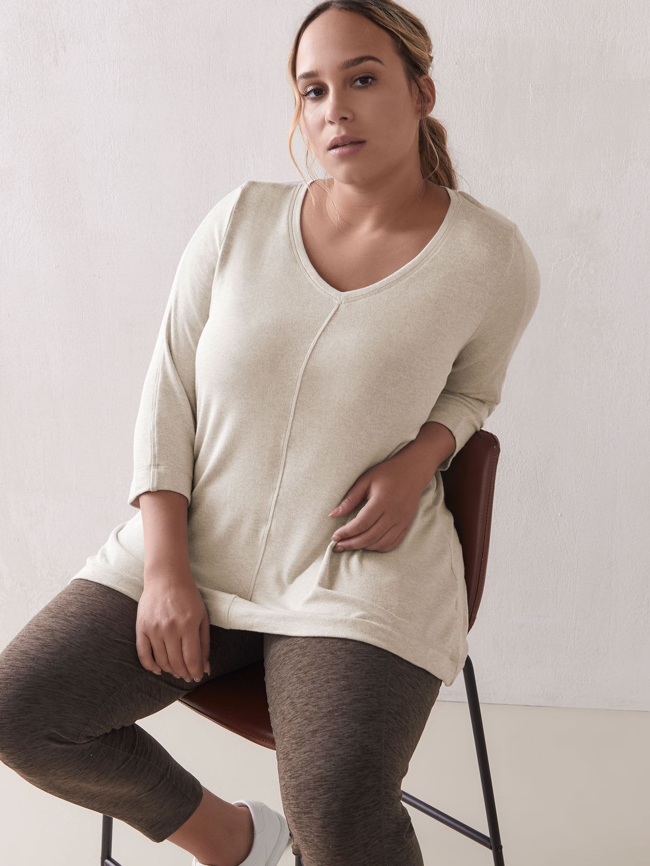 A-Line Jersey Tunic Top - ActiveZone