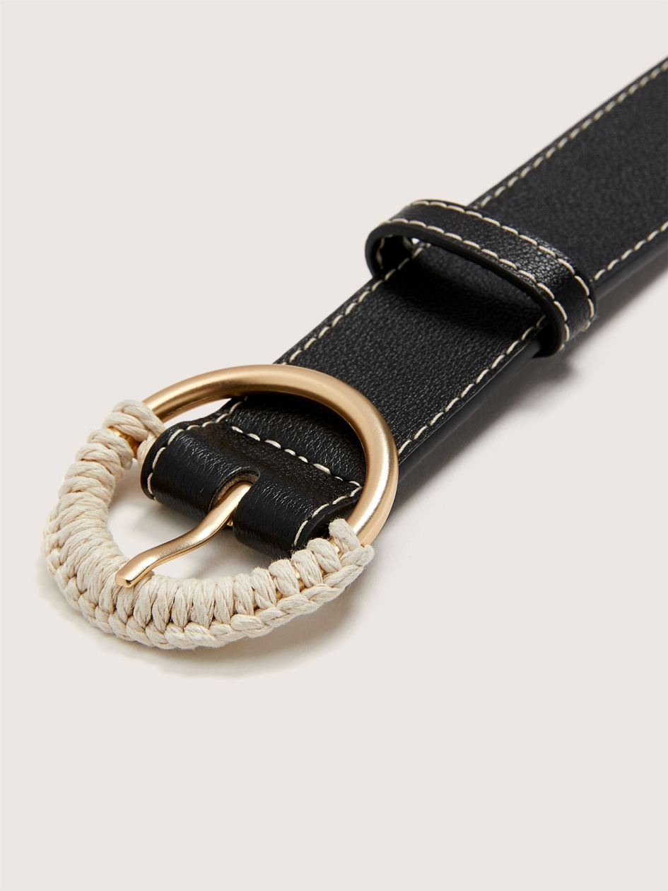 Belt with Half Rope Buckle - Addition Elle