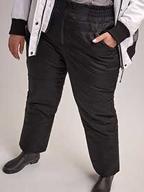 Black Plus Size Ski Pant - ActiveZone