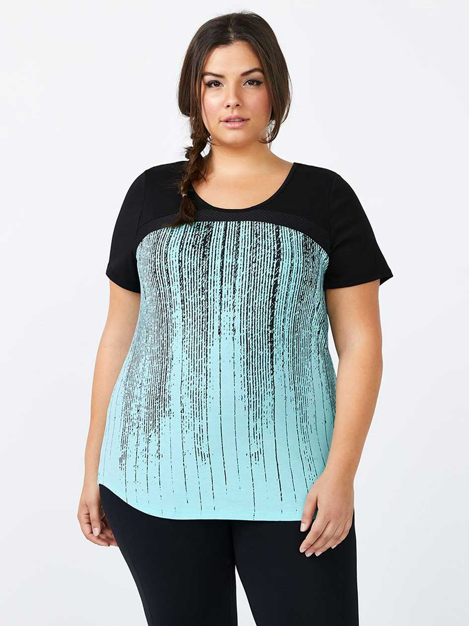 Essentials - Printed Plus-Size T-Shirt