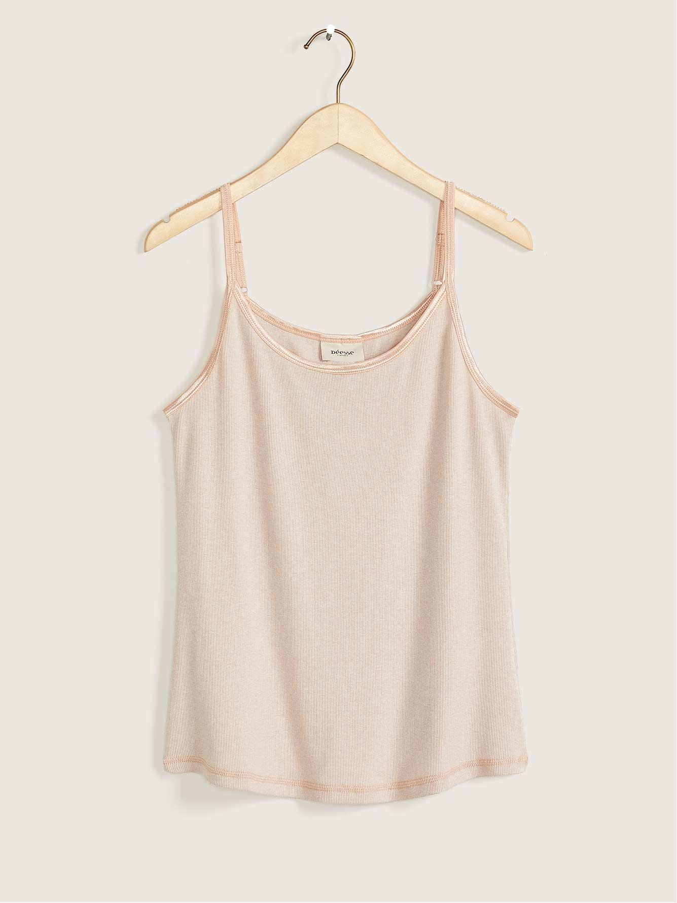 Ribbed Sleep Cami - Déesse Collection