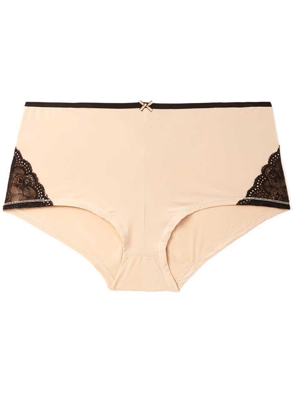 Ti Voglio Boyshort Panty with Lace