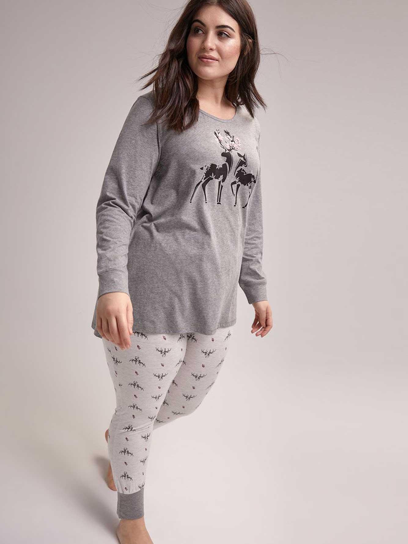 Ensemble pyjama imprimé - ti Voglio  8c12cf357f9