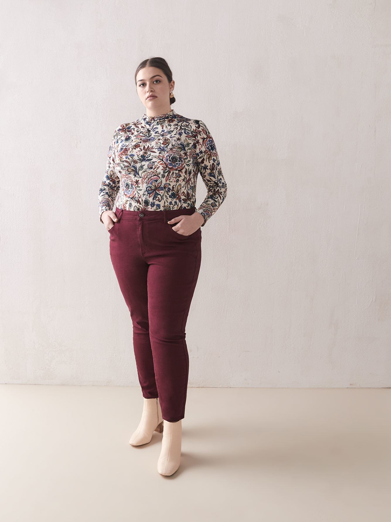 Tawny Port Skinny Jean - Addition Elle