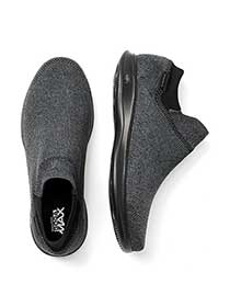 ONLINE ONLY - Wide-Width Stretch Slip On Shoes - Skechers